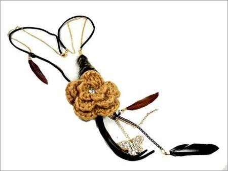 Kalung Feather Flower Butterfly JANC.BLR1.CH