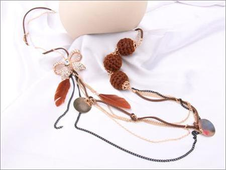 Kalung Feather Sphere Ribbon JANC.BLR2.CT
