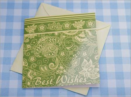 Greeting Card Best Wishes XGGC.UBB1.JM