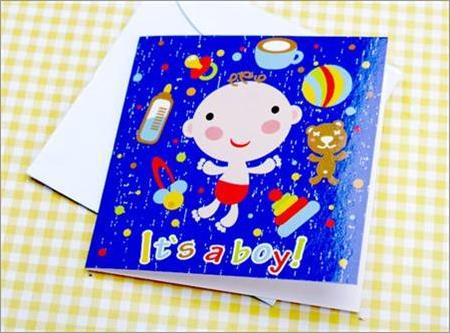 New Born Card It is a Boy XGGC.NBB1.BT