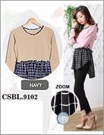 Blouse Wanita Galiena CSBL.9102.NV