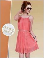 Dress Pleated Pearl Collar VBWD.GPS5.PC