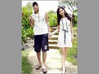 Baju Couple Simple Navi VBCP.CDR3.PP