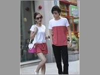 Baju Couple Plain Striped VBCP.CDR4.PM