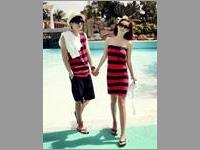 Baju Couple Wrapped chest VBCP.CD11.MH