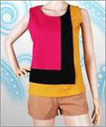 Baju Atasan Rainbow Basic Top  VBWT.AVP2.GU