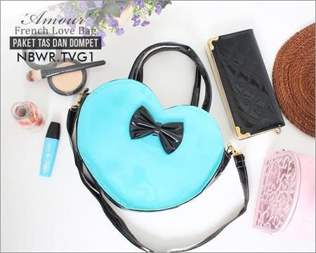 Amour French Love Bag & Wallet NBWR.TVG1.BM